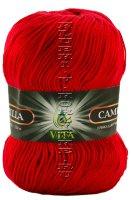 Пряжа VITA Camilla - (4615 - Красный)