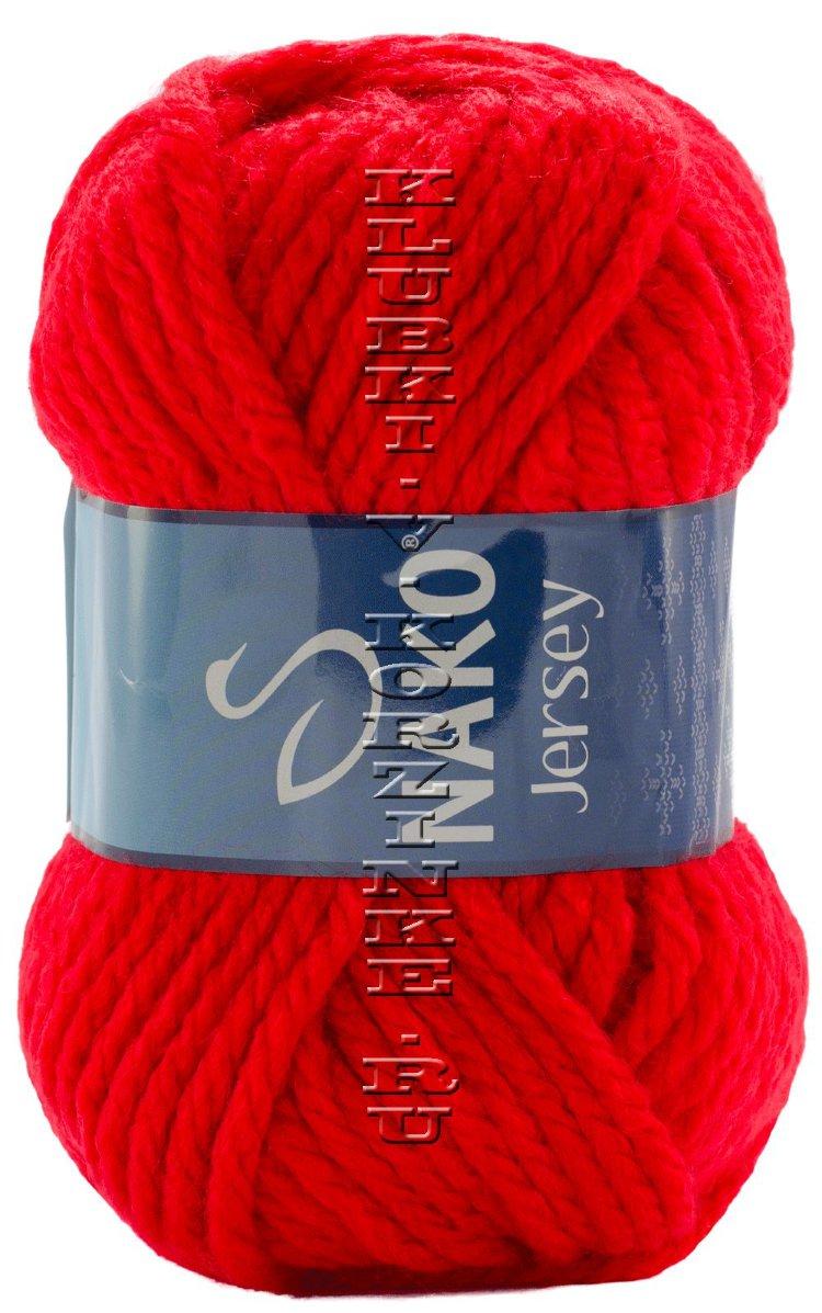 Пряжа для вязания джерси