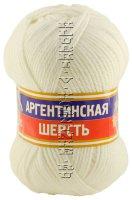 Пряжа Камтекс «Аргентинская шерсть» - (205 - Белый)