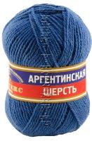 Пряжа Камтекс «Аргентинская шерсть» - (022 - Джинса)