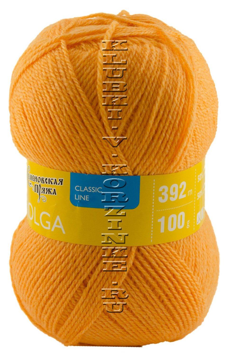 Российская семеновская пряжа для вязания