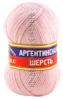 Пряжа Камтекс «Аргентинская шерсть» - (055 - Св.розовый)