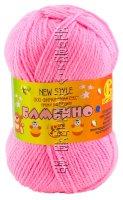 Пряжа Камтекс «Бамбино» - (056 - Розовый)