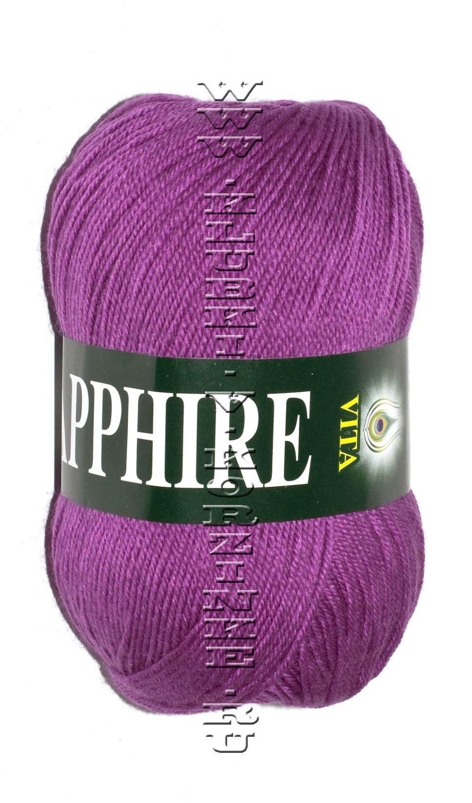 Вита сапфир плотность вязания
