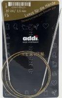 Спицы ADDI круговые супергладкие №2,5, 80 см