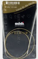 Спицы ADDI круговые супергладкие №3,5, 80 см
