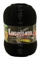Пряжа «Kangaroo Wool» Color City - (2622 - Черный)