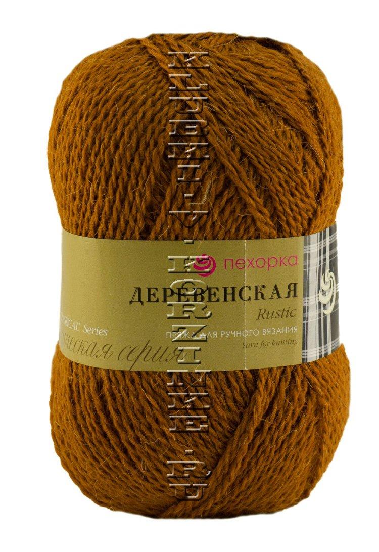 Вязания. пряжа для вязания деревенька