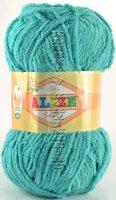 Пряжа Softy Alize - (490 - Светло-бирюзовый)