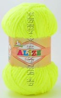 Пряжа Softy Alize - (552 - Желтый неон)