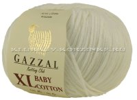 Пряжа GAZZAL (Газзал) Baby Cotton XL - (3410XL - Белый)
