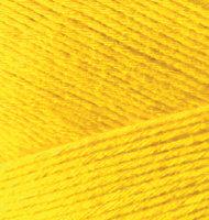Пряжа Bamboo Fine Alize - (216 - Ярко-желтый)