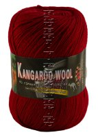 Пряжа «Kangaroo Wool» Color City - (2225 - Бордовый)