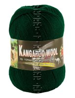 Пряжа «Kangaroo Wool» Color City - (2427 - Изумруд)