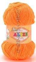 Пряжа Softy Alize - (654 - Оранжевый неон)