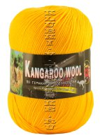 Пряжа «Kangaroo Wool» Color City - (2104 - Желтый)