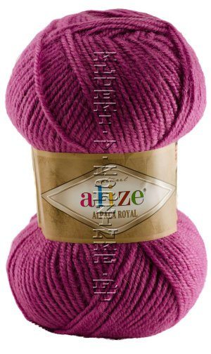 Пряжа Alpaca Royal Alize - (337 - Орхидея) 100 г / 250 м30% альпака, 15% шерсть, 55% акрил