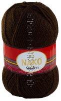 Пряжа Nakolen Nako - (1182 - Коричневый)