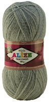 Пряжа SUPERWASH Alize - (221 - Серо-синий меланж)