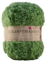 Пряжа Пехорка «Буклированная» - (09 - Зеленое яблоко)