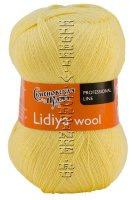Пряжа Семеновская «Лидия ЧШ (wool)» - (90772 - Шампанское_v2)