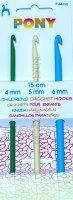 Набор крючков вязальных PONY для детей
