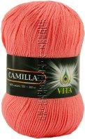 Пряжа VITA Camilla - (4619 - Оранжевый коралл)