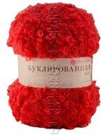 Пряжа Пехорка «Буклированная» - (88 - Красный мак)