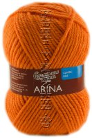 Пряжа Семеновская «Арина» - (670 - Морковный)