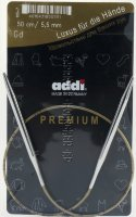 Спицы ADDI круговые супергладкие №5,5 50 см
