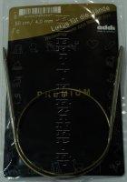 Спицы ADDI круговые супергладкие №4; 50 см