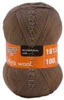 Пряжа Семеновская «Лидия ЧШ (wool)» - (90621 - Какао_v2)