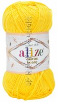 Пряжа Cotton Gold Hobby Alize - (216 - Желтый)