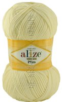 Пряжа Cotton Gold Plus Alize - (01 - Кремовый)