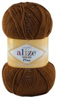 Пряжа Cotton Gold Plus Alize - (373 - Корица)