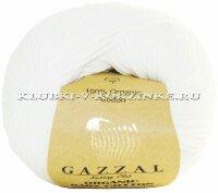 Пряжа GAZZAL («Газзал»)   Пряжа GAZZAL Organic Baby Cotton   Интернет-магазин пряжи «Клубки в корзинке»