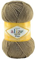 Пряжа Cotton Gold Plus Alize - (629 - Норка)