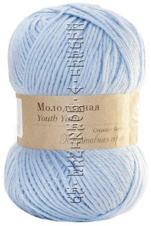 Пряжа Пехорка «Молодежная» - (05 - Голубой)           - купить в интернет-магазине товаров для вязания «Клубки в корзинке»