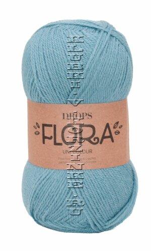 Пряжа Flora DROPS - (13 - Джинс)           - купить в интернет-магазине товаров для вязания «Клубки в корзинке»