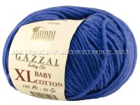 Пряжа GAZZAL (Газзал) Baby Cotton XL - (3421XL - Василек)