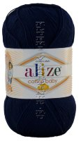 Пряжа Cotton Baby Soft Alize - (58 - Темно-синий)