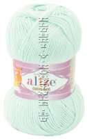 Пряжа COTTON GOLD Alize - (522 - Мята)