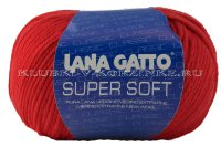 Пряжа Super Soft Lana Gatto - (19002 - Коралловый)