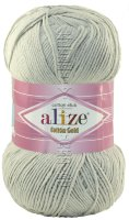 Пряжа COTTON GOLD Alize - (200 - Серый)