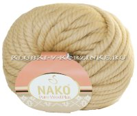 Пряжа Pure Wool Plus Nako - (1670 - Беж)